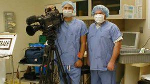 photo of medical camera crew